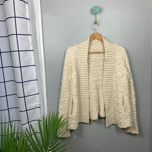 Sleeping on Snow by Anthropologie Fuzzy Cardigan